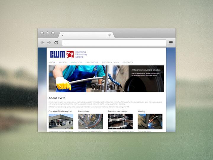 CWM – Can West Machinery web