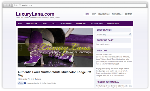 Luxury Lana web