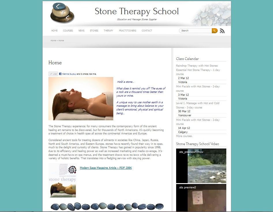 Stone Therapy School