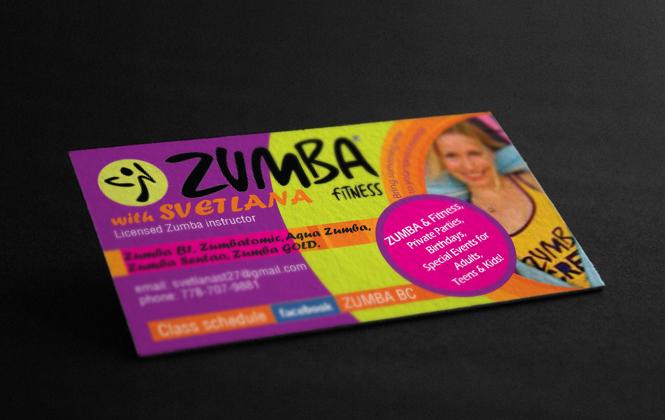 Zumba instructor