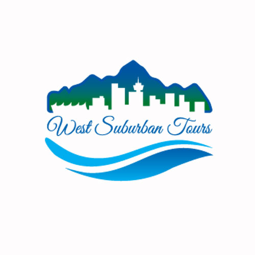 West Suburban Tours logo & Business card